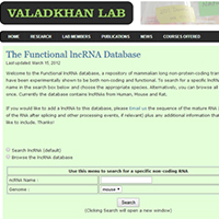 The Functional lncRNA Database